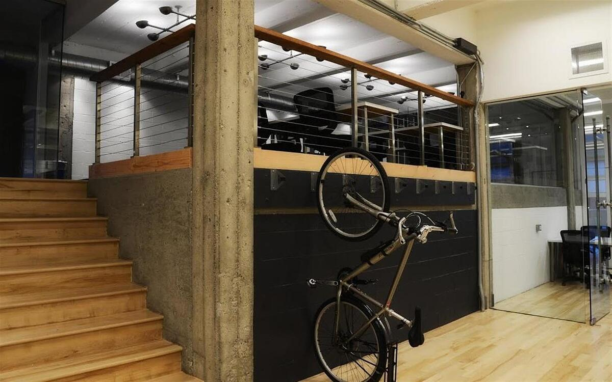 1776 in San Francisco is a bike-friendly workspace