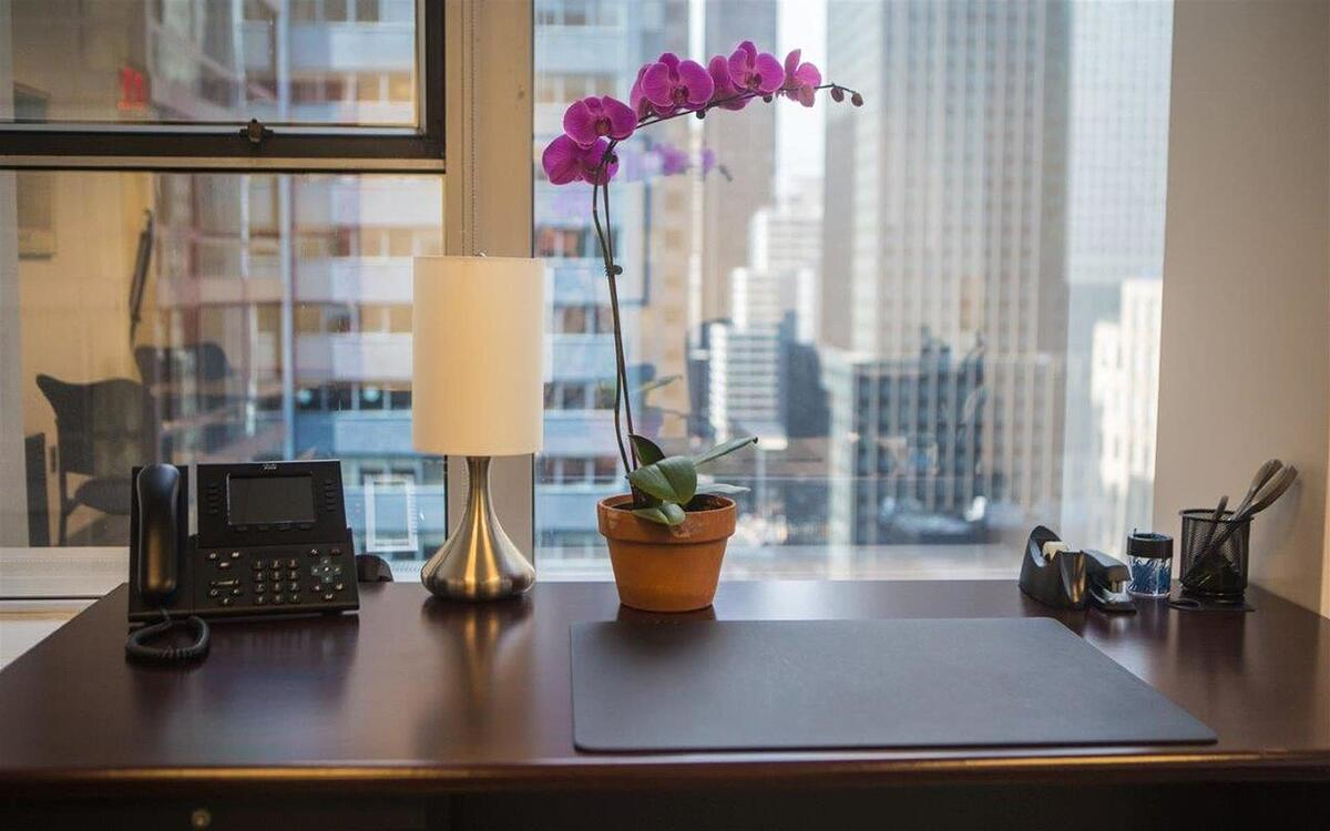 NYC Office Suites 733 in Midtown Manhattan offers great city views
