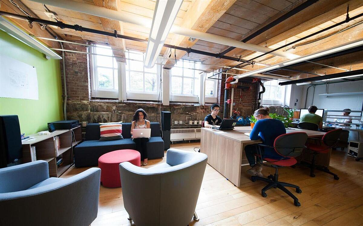 Workbar in Boston, Massachusetts
