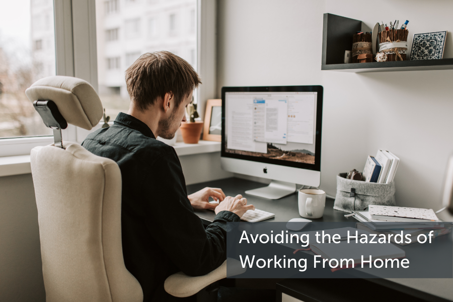How to avoid the hazards of working from home