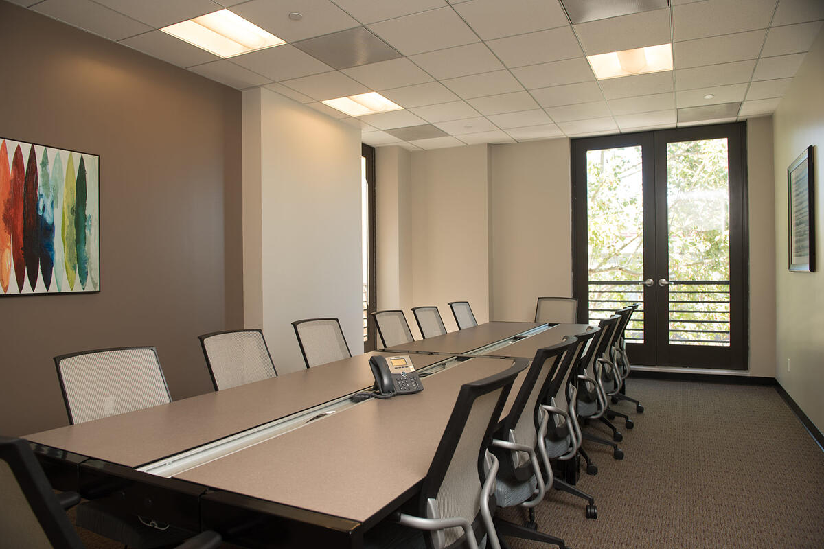 executive meeting room at Victory Workspace