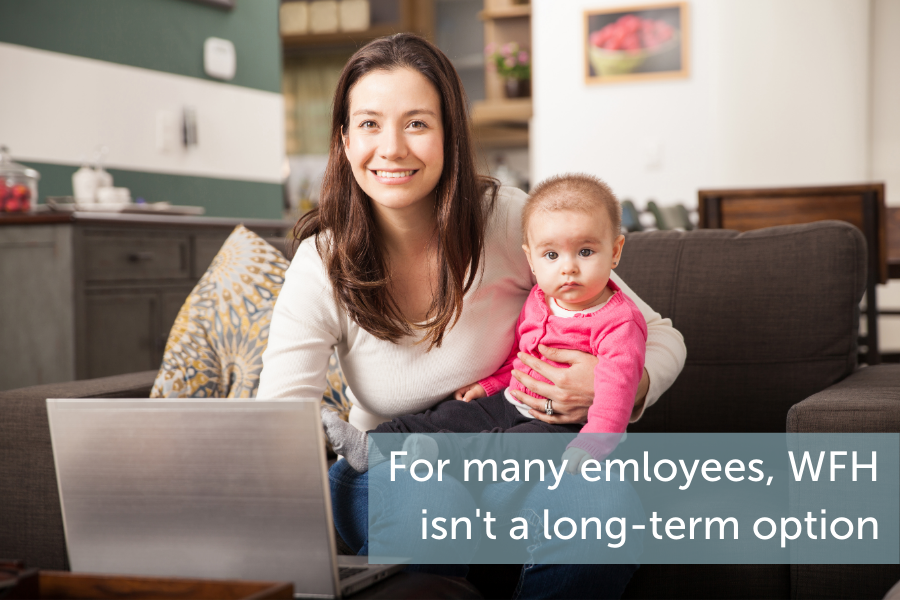 For many employees, working from home is no longer a long-term option.