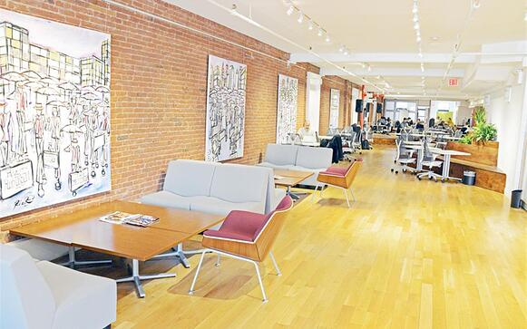 Impact Hub NYC - Gathering Space