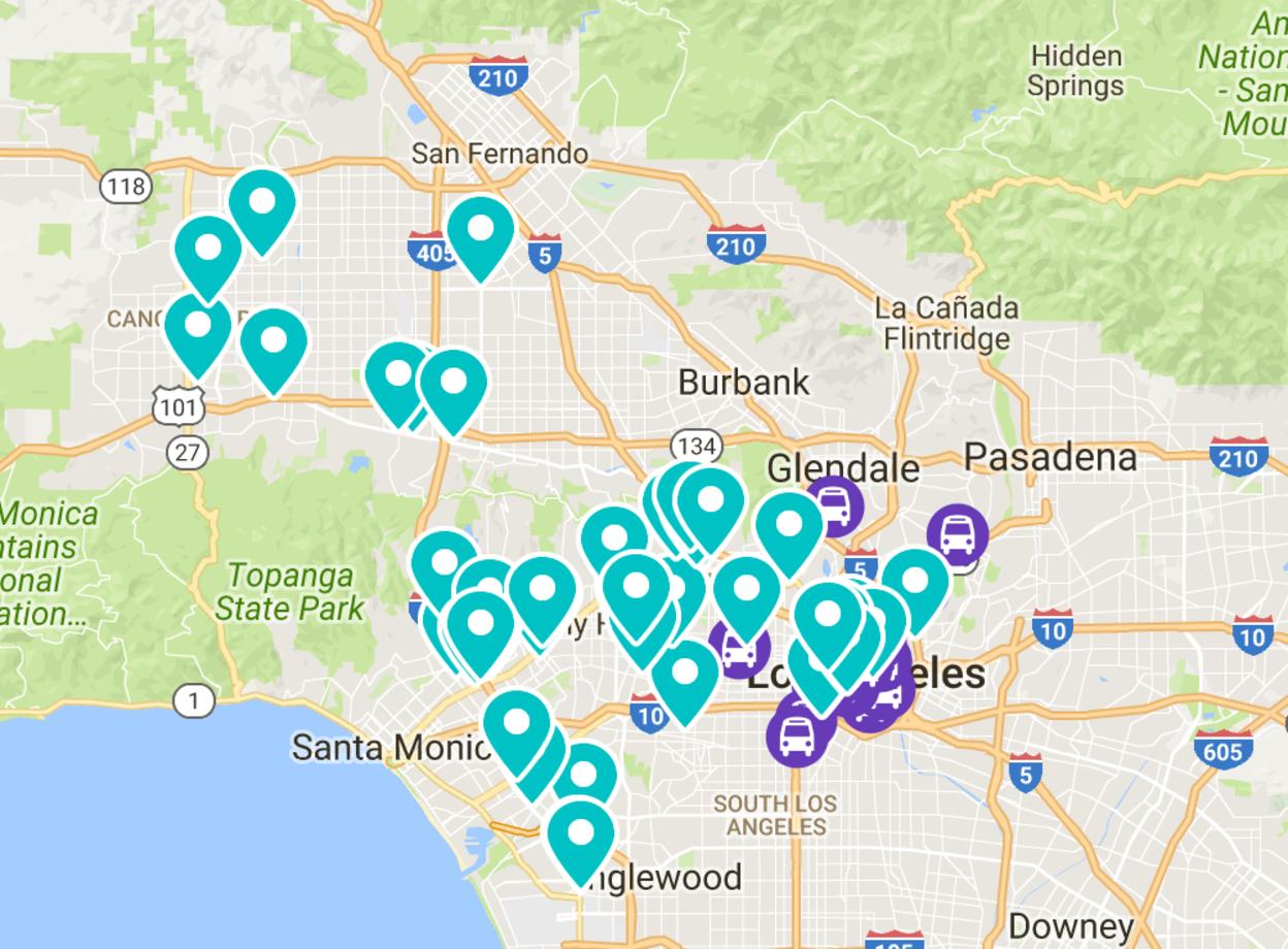 Flexible workspaces in Los Angeles