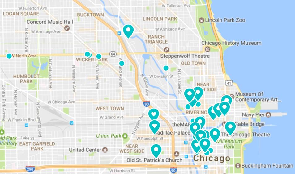 Flexible workspaces in Chicago
