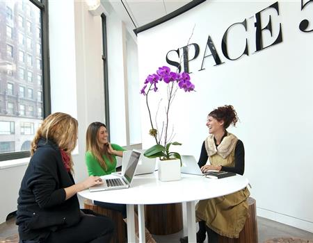 Socializing at Space 350