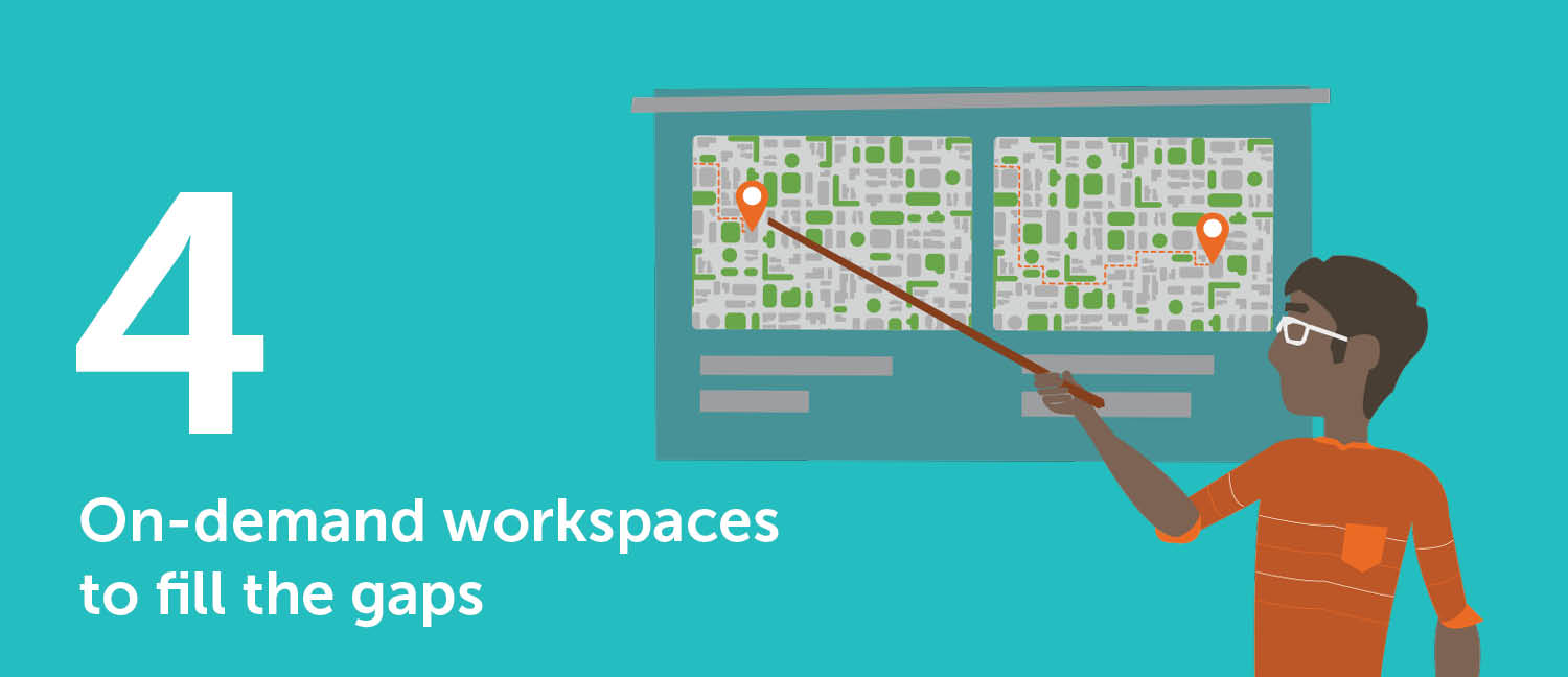 on-demand workspaces fill the gaps