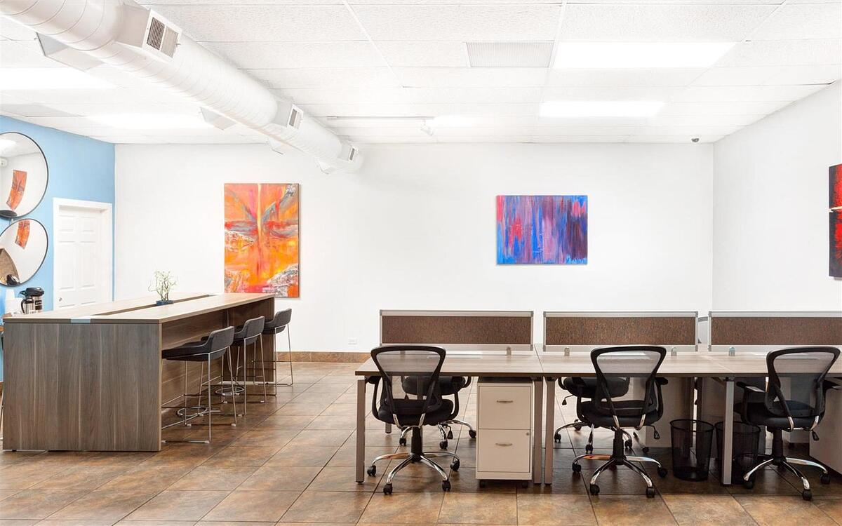 Coworking at Bru in Chicago