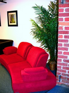 Lounge space at Co-Spot