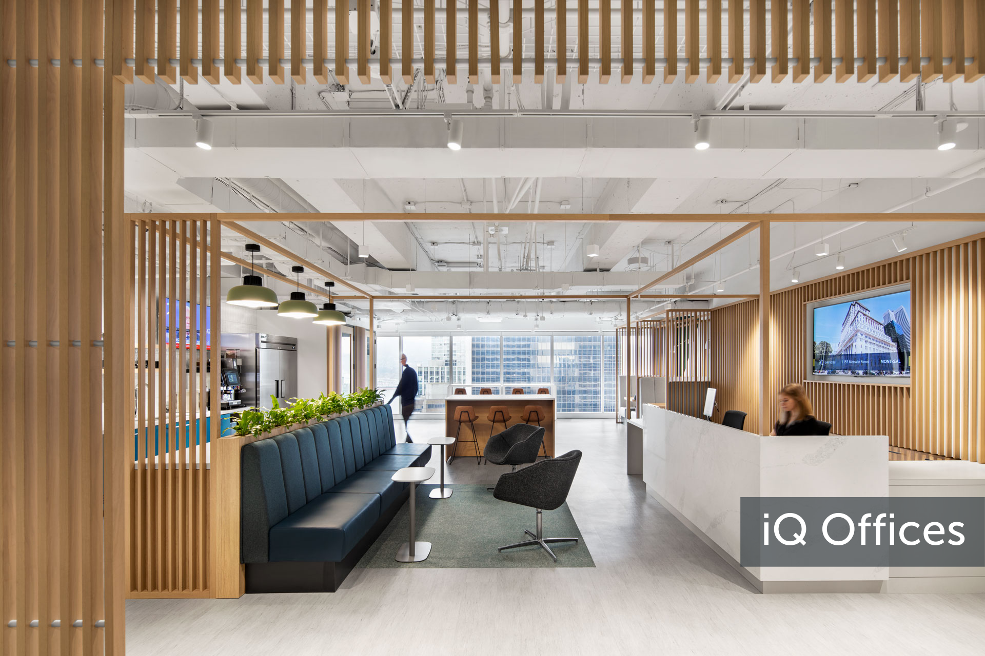Canada's iQ Offices offers flexible workspaces for enterprise employees who Work From Anywhere