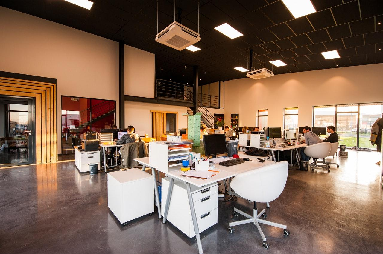 Coworking space interior
