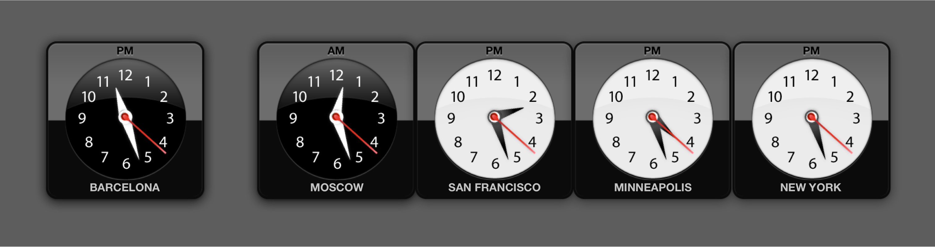 Time Zones – working remotely